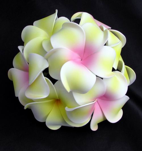 Cake topperpew arrangement soft touch frangipani plumeria cake topperpew arrangement soft touch frangipani plumeria mightylinksfo